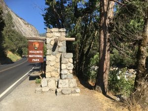 Arch Rock Entrance Yosemite
