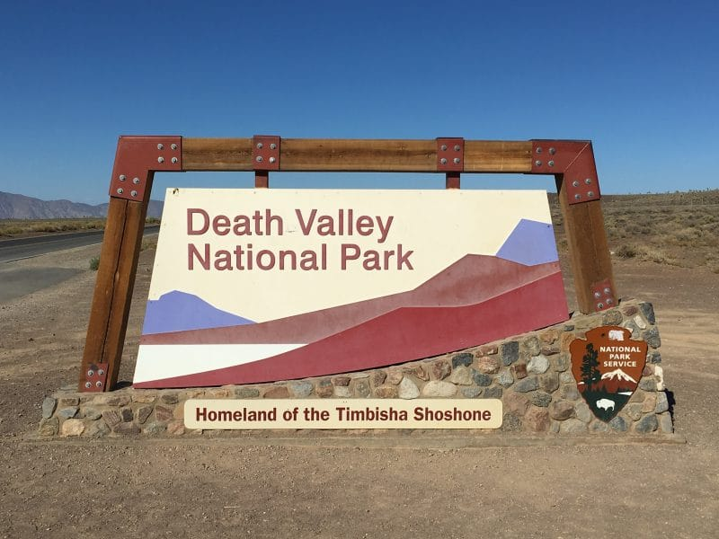 Death Valley National Park Amerika