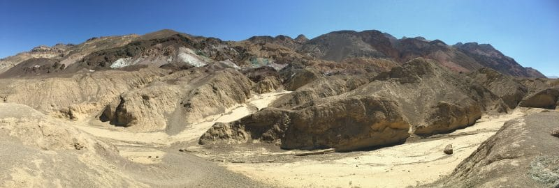 Death Valley Artist's Drive en Pallete