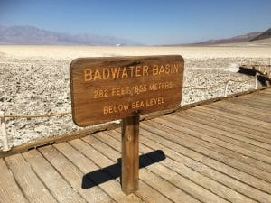 Badwater Death Valley National Park