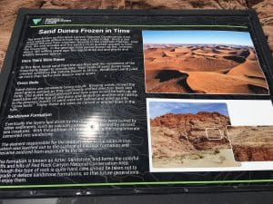 Red Rock Canyon informatiebord