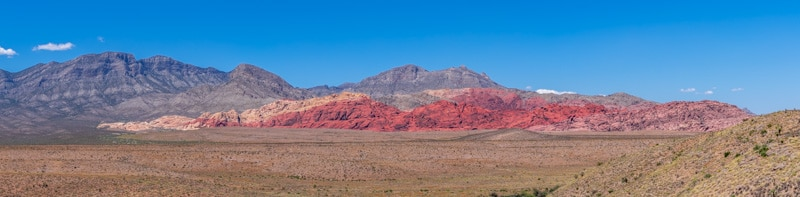 Red Rock Canyon Panaroma