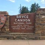 Bryce Canyon NP bord