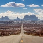 Forrest Gump Point (Mexican Hat) Monument Valley Arizona USA
