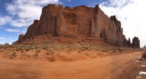Valley Drive door Monument Valley