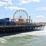 Santa Monica Pier en Pacific Park