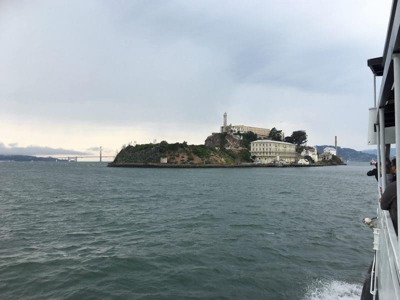 Alcatraz vanaf veerboot