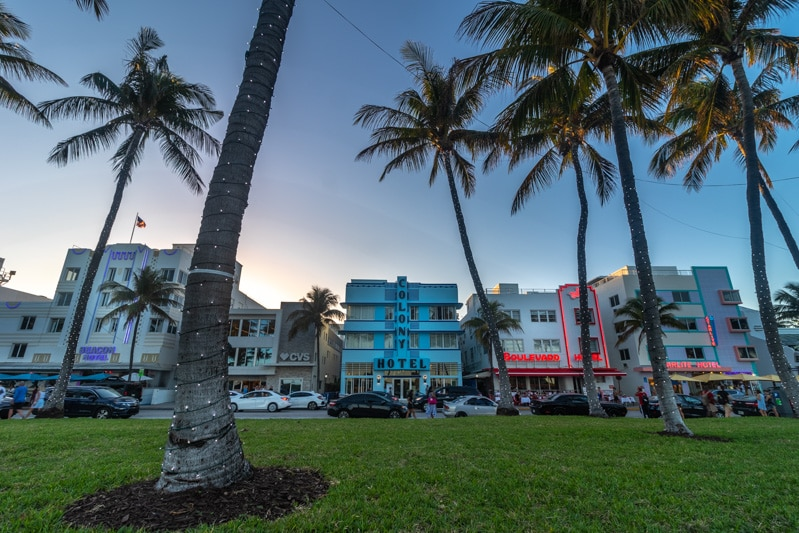 Ocean Drive Miami Meach