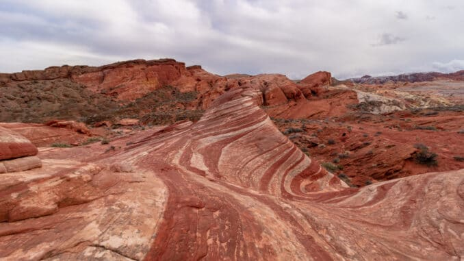 Fire Wave in de Valley of Fire