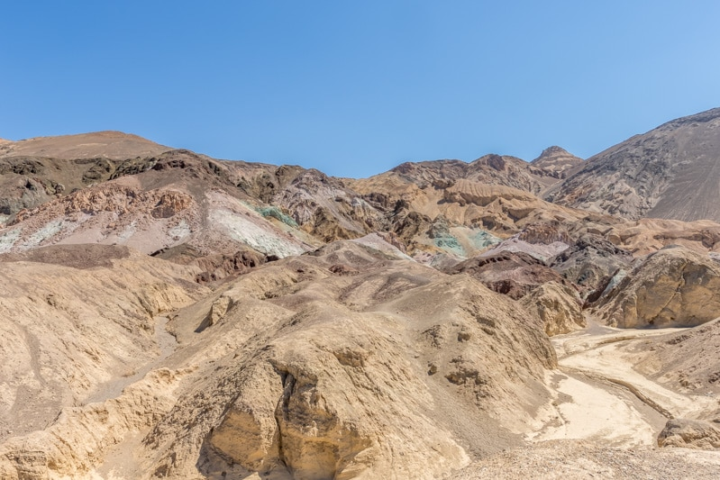 Artist's Palette in Death Valley