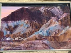 Artist's Palette in Death Valley.