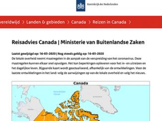 Reisadvies Canada