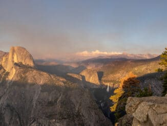 Yosemite vanaf Glacier Point