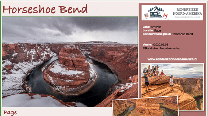 Horseshoe Bend bij Page