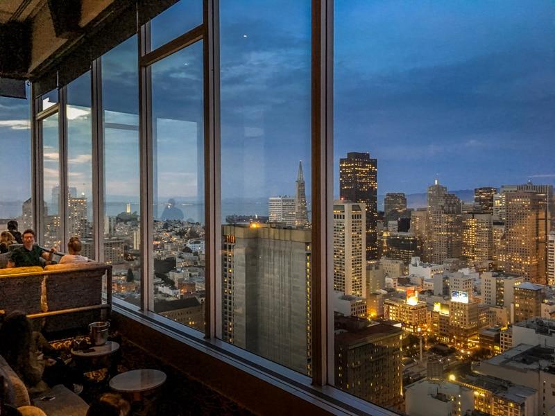Sky bar Hilton Union Square