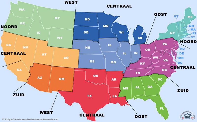 Staten van Amerika