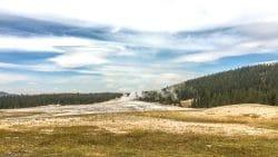 Old Faithful Geiser Yellowstone