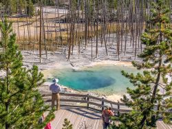 Cistern Spring Yellowstone
