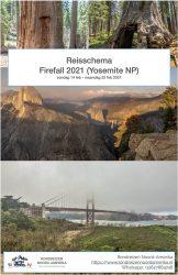 Reisschema themareis Firefall Yosemite