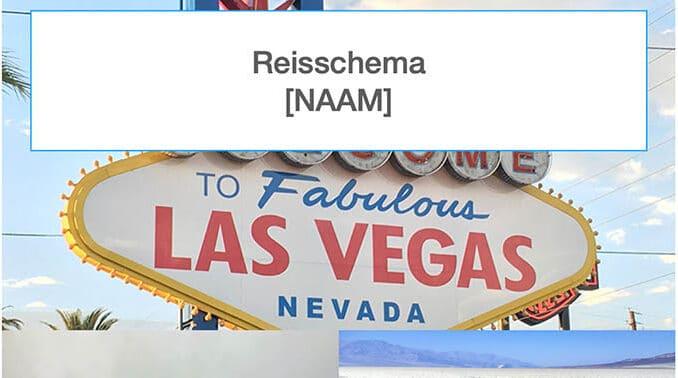 Reisschema Californië & Las Vegas