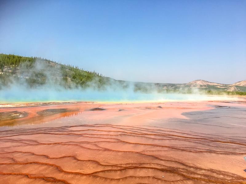 Grand Prismatic Spring Yellowstone