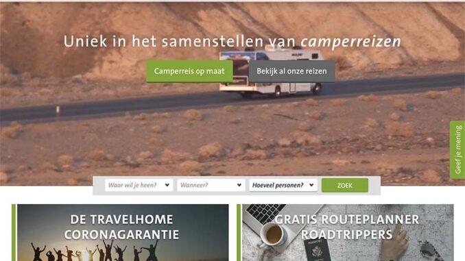 Travelhome website