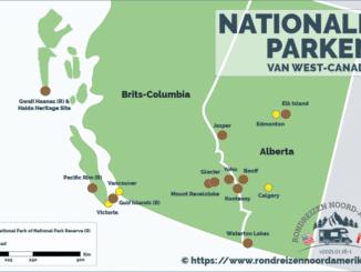 Nationale Parken West-Canada